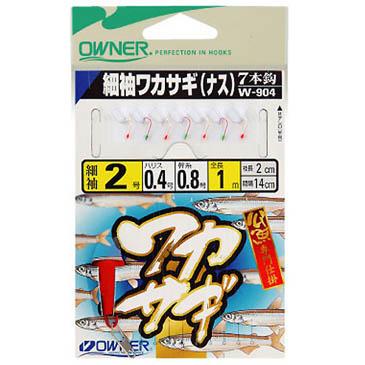 오너  빙어채비 W-904(7단) -일본생산-